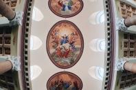 Basílica da Penha | Pintura no teto
