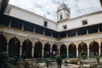 Pátio do Convento Franciscano de Santo Antônio