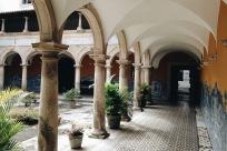 Pátio do Convento Franciscano de Santo Antônio | Detalhes Piso